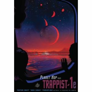 Vision du futur sur Trappist