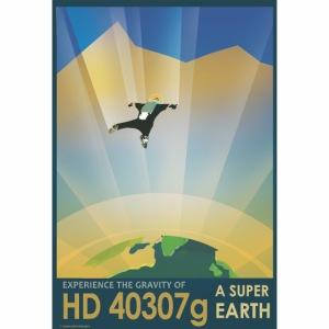 Vision du futur sur HD40