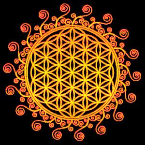 Blume des Lebens, Spirtuelles Symbol, Feng Shui