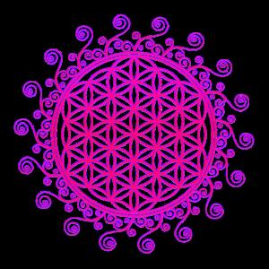 Blume des Lebens, Spiritualität, Chakra, Yoga, Zen