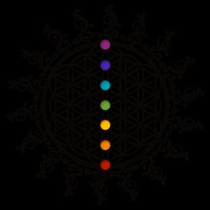 Blume des Lebens, flower of life , Chakra, yoga