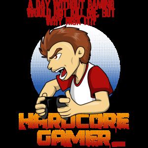 Hard Gamer HARIZ Gamer Gaming Geschenk