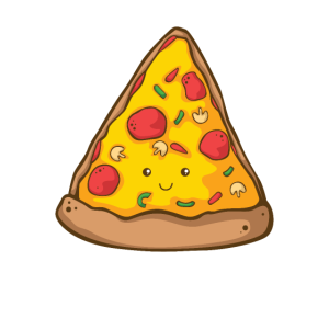 Pizza Kawaii Pizza Geschenk Pizzeria Italien Essen