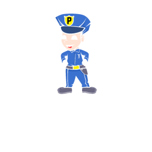 Kleiner Polizist Nachwuchspolizist Nachwuchs