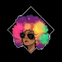 Afro Latina stolz Leiteinamerika ebony brasilien