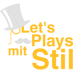 Let's Plays mit Stil (weiß)