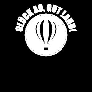Lustiges Heißluftballon Fahrt Geschenk