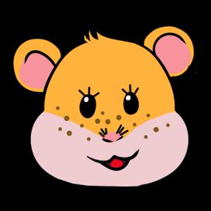 Sommersprossen Hamster Nager Sommer Tiere Fantasy