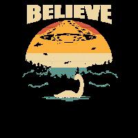 Nessie Ufo Verschwörungstheorie Loch Ness Geschenk