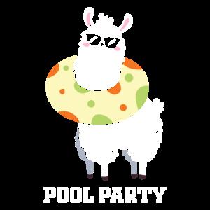Alpaka Pool Party
