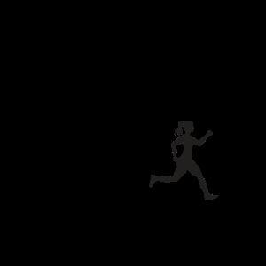 Ehemann Ehefrau Läuferin Marathon Sport Spruch