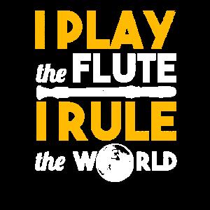 Flöte Bläser Flute spielen Tochter Trompete Musik