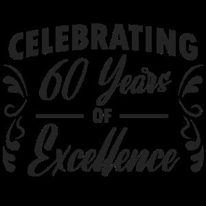 60. Geburtstag - Design