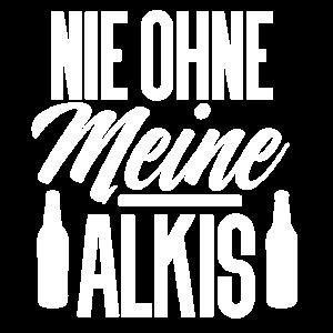 Alkohol Alkis Bier Saufen Team