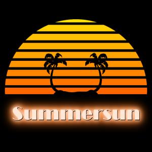 Sommersonne - Summersun Poster