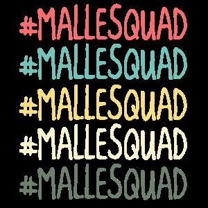 Malle Squad Mallorca Feiern Trinkteam