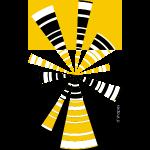 d'shapes radio giallo