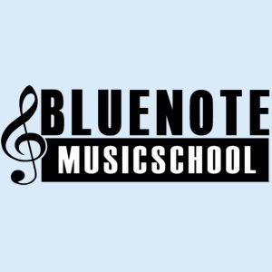 Bluenote Musicschool Logo Schwarz/Weiss