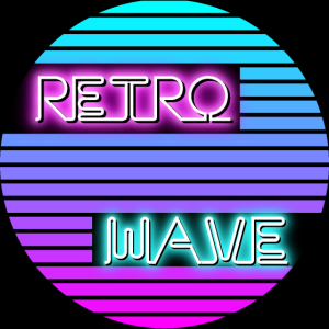 Retrowave poster