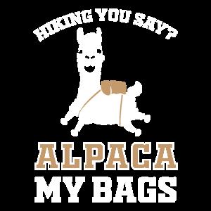 Alpaka Wandern
