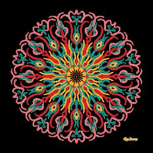 Mandala Flower Vintage-Modus