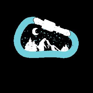 Karabiner Klettergeschenk
