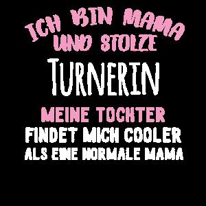 Turnerin Mama Tochter Mutter Mama Mom E Turnen Tur