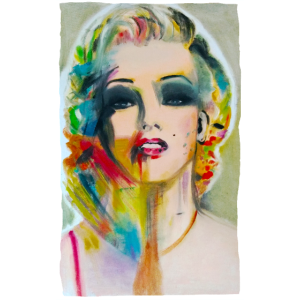 Marilyn Monroe Art Regenbogen retro