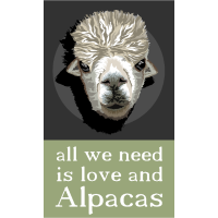 all we need is love and alpacas