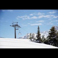 Winter - Skifahren - verschneite Landschaft