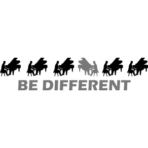 be different pianist