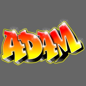 Adam Graffiti Name Printable