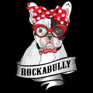 Rockabully French Bully Rockabilly Mädchen