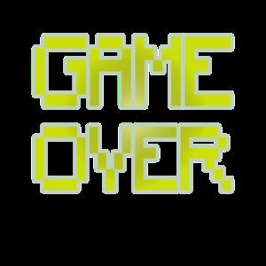 Retro Gaming-Spiel vorbei
