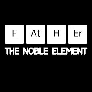 Lustiges Periodensystem-Wortspiel-edles Element