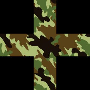 Greek Cross Camouflage green