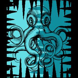 Octopus Tintenfisch