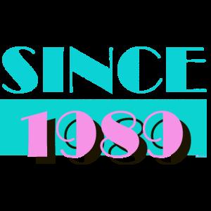 Since 1989 miami 80sBox