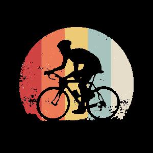 Rennrad Fahrrad Radfahrer Vintage Geschenk