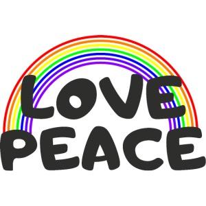 Love Peace Gay LGBT Shirt Geschenk