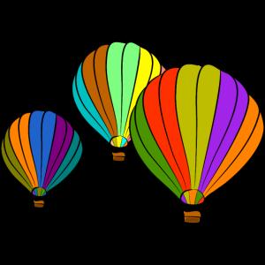 heissluftballone ballon luftfahrt bunt