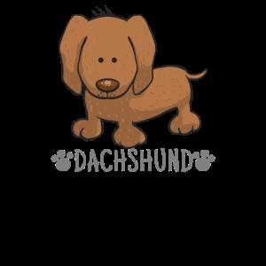 Hund Zeichnung - Dachshund