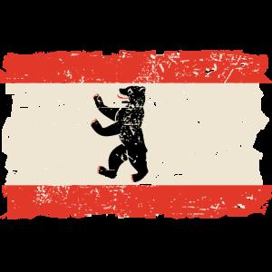 Berlin Vintage Flag
