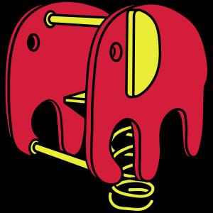 Elefant spielplatz kind
