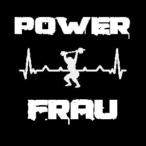 EKG Herzschlag Power Frau training gym Heartbeat