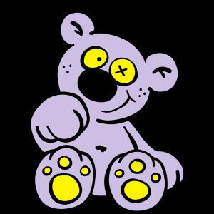 Süßer Teddy Bär I Bärchen Comic I Kinder Geschenk