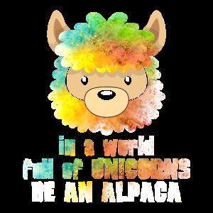 Alpaka Einhorn