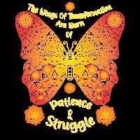 Schmetterlingsmandala