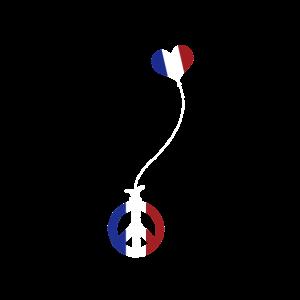 Frieden Herz Frankreich