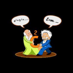 Lustiges Einstein Nerd Geek Geschenke Shirt